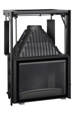 Invicta Adjustable WA 800 Hearth inbouwhaard